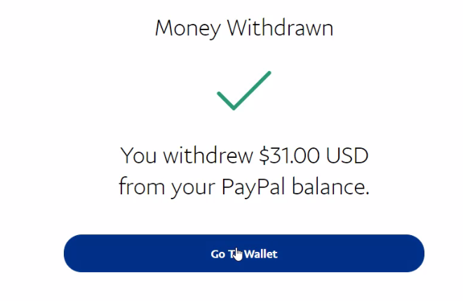 Step by Step how to withdraw in paypal